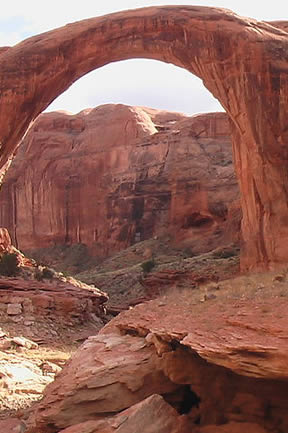 Rainbow Bridge at Lake Powell