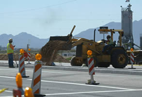 I-17 Closure, Road Work