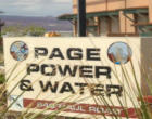 Power Outage in Page Area Due to Fault on Flag Line