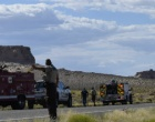 Greenehaven Firefighters Attack Utah Brush Fire