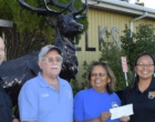 The Page Elks Lodge Donates $$$ for Shop with a Cop