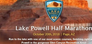 Lake Powell Half Marathon Saturday