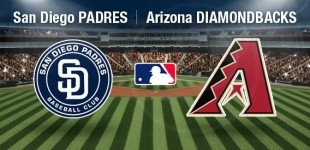 Arizona Diamondbacks faces the San Diego Padres