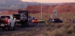 Nasty Monday Crash Ties-up Traffic on US-89