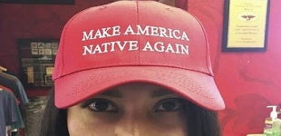A New Hat on the Market; 'Make America Native Again'