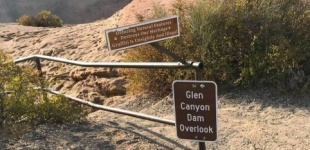 A Fatal Fall At Glen Canyon Dam Overlook (near Denny's)